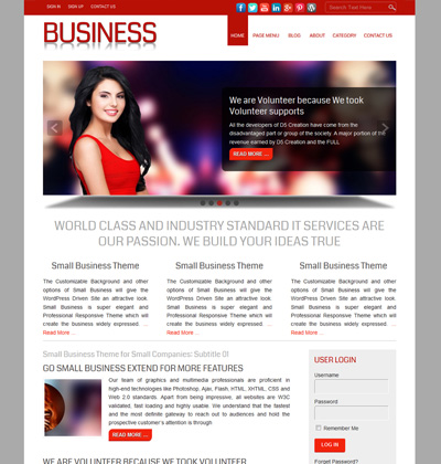 Small Business Theme